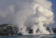 Volcanic Eruption<br /> February 1995, Cabo Hammond<br /> Fernandina Island,  GALAPAGOS, ECUADOR<br /> South America