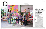 L'Obs // 19th July 2018<br /> Portrait of Missoni Family