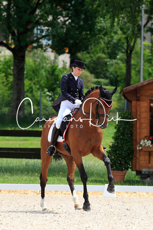 Fries Franziska (AUT) - Alassio's Boy<br /> FEI European Dressage Championship Young Riders - Bern 2012<br /> © Hippo Foto - Leanjo de Koster