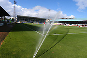30th September 2017, Dens Park, Dundee, Scotland; Scottish Premier League football, Dundee versus Hearts; General view of Dens Park, home of Dundee