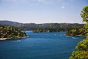 Scenic Big Bear Lake View