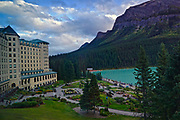 Canadian Rocky Mountains, Banf National Park, Lake Louise, Fairmont Hotel