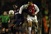 ARSENAL/MIDDLESBROUGH CARLING CUP 20/01/04 (0-1)<br />