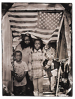 The flag hanging in the backdoor of Kennetta Sutton&rsquo;s, 29, booth at the Waldo Flea Market off U.S. 301 caught my eye, then I noticed<br />