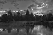 Schwabachers Landing in Black and White