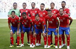 SAMARA, June 17, 2018  Players of Costa Rica pose for a group photo prior to a group E match between Costa Rica and Serbia at the 2018 FIFA World Cup in Samara, Russia, June 17, 2018. (Credit Image: © Ye Pingfan/Xinhua via ZUMA Wire)