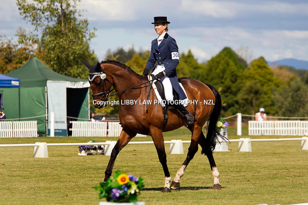 NZL-Monica Oakley (FONTAIN) Kihikihi International Horse Trial: Friday Dressage-CIC3*: INTERIM-1ST FENCE-20   :   CIC3* CROSS COUNTRY COURSE: FENCE-BY-FENCE 2013 NZL-Kihikihi International Horse Trial FENCE-1   :   CIC3* CROSS COUNTRY COURSE: FENCE-BY-FENCE 2013 NZL-Kihikihi International Horse Trial NZL-Georgia Dufty (CHARTON TABLOID) Kihikihi International Horse Trial: Dressage-CIC2*: INTERIM-1ST  (Friday 5 April 2013)