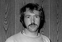 Billy McCullough, footballer, Glentoran FC, Belfast, N Ireland, October, 1972, 197210000687<br /> <br /> Copyright Image from Victor Patterson, 54 Dorchester Park, Belfast, UK, BT9 6RJ<br /> <br /> t1: +44 28 9066 1296 (from Rep of Ireland 048 9066 1296)<br /> t2: +44 28 9002 2446 (from Rep of Ireland 048 9002 2446)<br /> m: +44 7802 353836<br /> <br /> e1: victorpatterson@me.com<br /> e2: victorpatterson@gmail.com<br /> <br /> The use of my copyright images is subject to my Terms & Conditions.<br /> <br /> It is IMPORTANT that you familiarise yourself with them. They are available on my website at www.victorpatterson.com.<br /> <br /> None of my copyright images may be used on a website unless they are visibly watermarked, i.e. © Victor Patterson within the body of the visible image. Metadata denoting my copyright must NOT be deleted. <br /> <br /> Web use is extra at currently recommended NUJ rates.