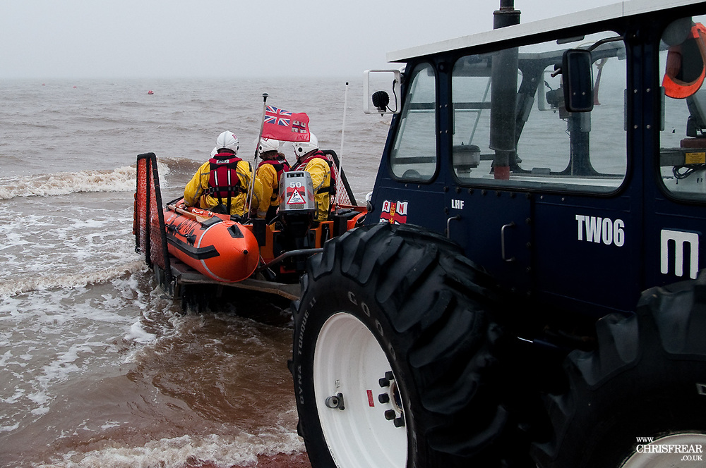 Cleethorpes Inshore RNLI Lifeboat