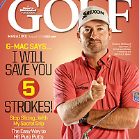 Golf Magazine cover of Graemme McDowell, GMAC