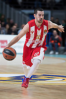 Crvena Zvezda Taylor Rochestie during Turkish Airlines Euroleague match between Real Madrid and Crvena Zvezda at Wizink Center in Madrid, Spain. December 01, 2017. (ALTERPHOTOS/Borja B.Hojas)