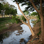 A heavily polluted creek runs through town and into Lake Nicaragua next to Centro Turistico. Centro Turistico is a 2KM stretch of lakefront with parks, walkways, picnic areas, and restaurants. But it has evidently lacked funding for upkeep since opening.