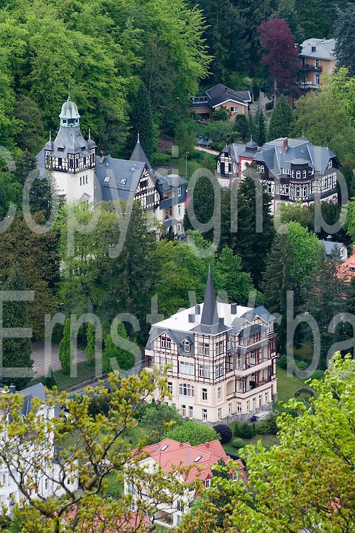Historische Villen, Bad Harzburg, Bad Harzburg, Harz, Niedersachsen, Deutschland | historical villas,  Bad Harzburg, Harz, Lower Saxony, Germany