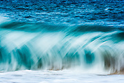 Powerful Hawaiian surf