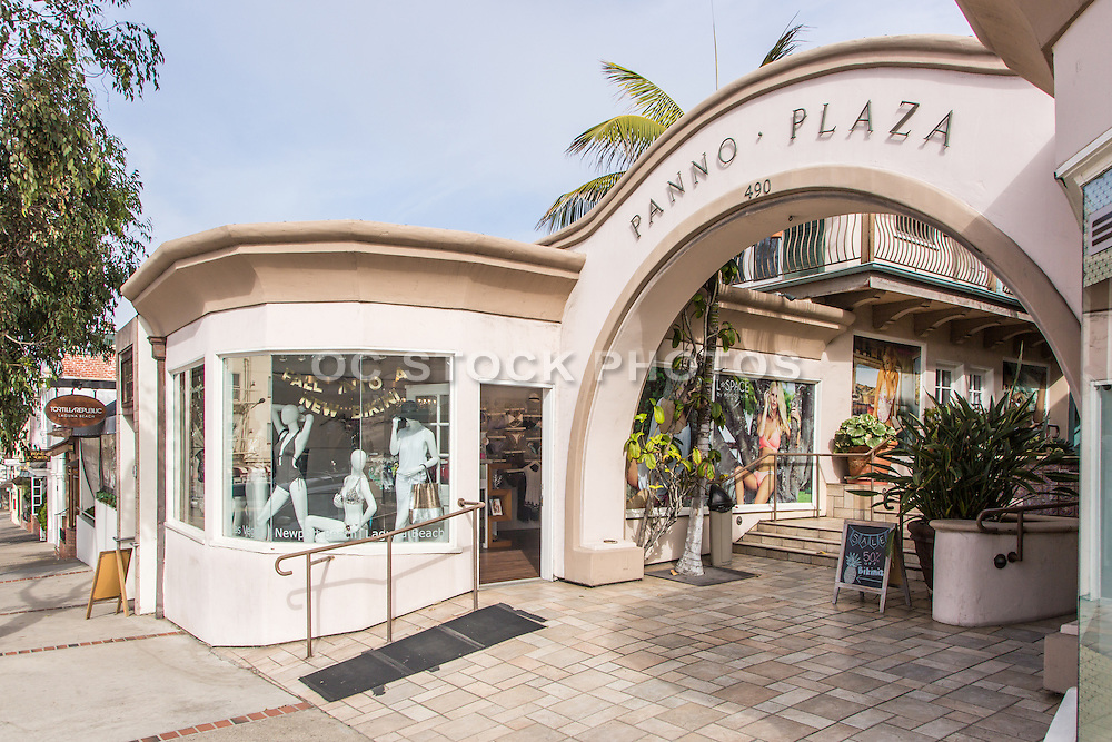 Panno Plaza on Coast Highway Laguna Beach California