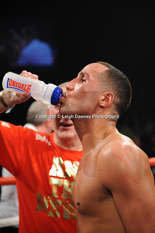 """James DeGale MBE defeats Paul Smith at the Echo Arena, Liverpool,11th December 2010,Frank Warren.tv Promotions """"Return Of The Magnificent Seven"""" © Photo Leigh Dawney"""