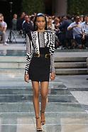 Dolce and Gabbana Emporio Armani Spring Summer 2018 Fashion Show - 17 June 2017