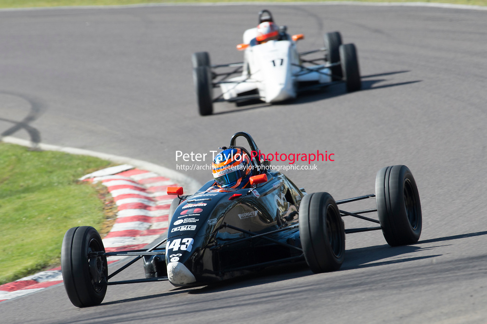 #143 Tom Bradshaw Van Diemen JL16 during Avon Tyres Formula Ford 1600 Northern Championship - Prost 89 as part of the BRSCC Oulton Park Season Opener at Oulton Park, Little Budworth, Cheshire, United Kingdom. March 25 2017. World Copyright Peter Taylor/PSP. Copy of publication required for printed pictures.  Every used picture is fee-liable. http://archive.petertaylor-photographic.co.uk