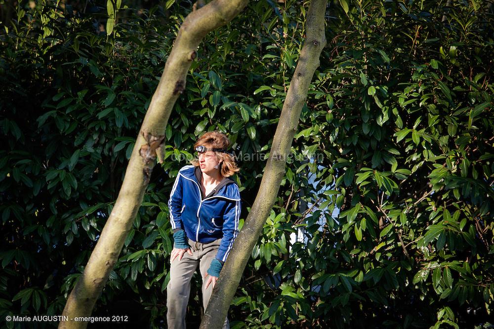 Anne-Lise GUILLET, comédienne - tournage scène imposée de Guihem AMESLAND - emergence 2012