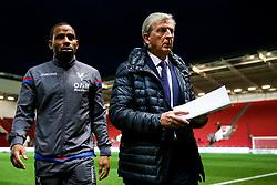 Crystal Palace Manager Roy Hodgson looks on before the game - Rogan/JMP - 24/10/2017 - Ashton Gate Stadium - Bristol, England - Bristol City v Crystal Palace - Carabao Cup Round of 16.