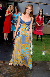FRANCESCA VERSACE at the annual Serpentine Gallery Summer Party co-hosted by Jimmy Choo shoes held at the Serpentine Gallery, Kensington Gardens, London on 30th June 2005.<br /><br />NON EXCLUSIVE - WORLD RIGHTS