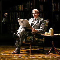 SHADOWLANDS by Nicholson ;<br /> Andrew Havill as Warnie ;<br /> Directed by Rachel Kavanaugh ;<br /> Designed by Peter McKintosh ;<br /> Chichester Festival Theatre ;<br /> 1st May 2019 ;<br /> © Pete Jones<br />pete@pjproductions.co.uk