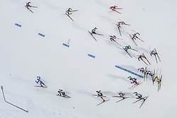 March 16, 2019 - –Stersund, Sweden - 190316 Skiers competes in the Men's 4x7,5 km Relay during the IBU World Championships Biathlon on March 16, 2019 in Östersund..Photo: Petter Arvidson / BILDBYRÃ…N / kod PA / 92269 (Credit Image: © Petter Arvidson/Bildbyran via ZUMA Press)