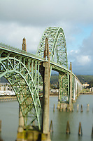 Bridge over Yaquina Bay. Newport, OR