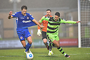 Forest Green Rovers Midfielder, Fabien Robert (26) during the FA Trophy match between Forest Green Rovers and Truro City at the New Lawn, Forest Green, United Kingdom on 10 December 2016. Photo by Adam Rivers.