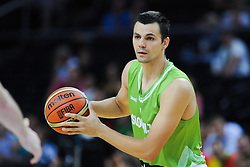 Jure Balazic of Slovenia during friendly match between National Teams of Slovenia and New Zealand before World Championship Spain 2014 on August 16, 2014 in Kaunas, Lithuania. Photo by Vid Ponikvar / Sportida.com