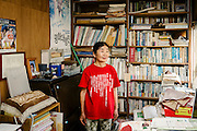 Etsuko Urashima is a 67 year old writer, originally from Sendai City in Kagoshima. She wears a t-shirt printed with an extract from Article 9 of the Japanese Constitution, previously known as the &ldquo;Peace Constitution&rdquo;. She met her ex-husband in Amami Oshima when she was active in the counter-cultural environmental movement, and the experience sparked her interest in activism and writing. She&rsquo;s had five books published since 1995.<br /> <br /> When Okinawa was returned to Japan in 1972 from the USA, it was a common belief that many of the bases would be removed from the island. That was never the case, Etsuko claims, the central government provided subsidies to the local government in an effort to appease the local population and still continues this strategy till this day with similar matters.<br /> <br /> When Etsuko came to Okinawa she wanted to live away from the urban areas, and surround herself in nature. Around that time, an incident of rape of a 12 year old Japanese girl by a US Marine occurred at Kinjyoj, which sparked a movement in opposition to Futenma Airbase. Subsequently Henoko was suggested as a possible relocation. Etsuko postulates, it is difficult to say whether or not there are any ways for Okinawa to be independent economically without the US military bases. The lands occupied by the bases are usually the most fertile and suitable for agriculture. If the lands are returned to the people local industries could develop further. At the moment, she feels, Okinawa&rsquo;s development is actually being held back by the bases. She ultimately wants to see all US military bases removed from Okinawa. Etsuko says military bases are incompatible to Okinawa&rsquo;s desire for peace.