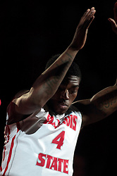 07 December 2013:  Bobby Hunter during an NCAA mens basketball game. The Illinois State Redbirds beat the 25th ranked Dayton Flyers 81-75 in Redbird Arena, Normal IL