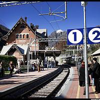 Riapertura del tratto finale della ferrovia Torino-Ceres da Germagnano a Ceres..Il percorso da Germagnano a Ceres è uno dei più belli del panorama ferroviario nazionale: si snoda in montagna e raggiunge pendenze massime del 35 per mille su scenari panoramici molto suggestivi. La linea interrotta a causa dei danni provocati dall?alluvione del 1993 è stata completamente rinnovata e rinasce ora come moderna ferrovia con impianti all?avanguardia.