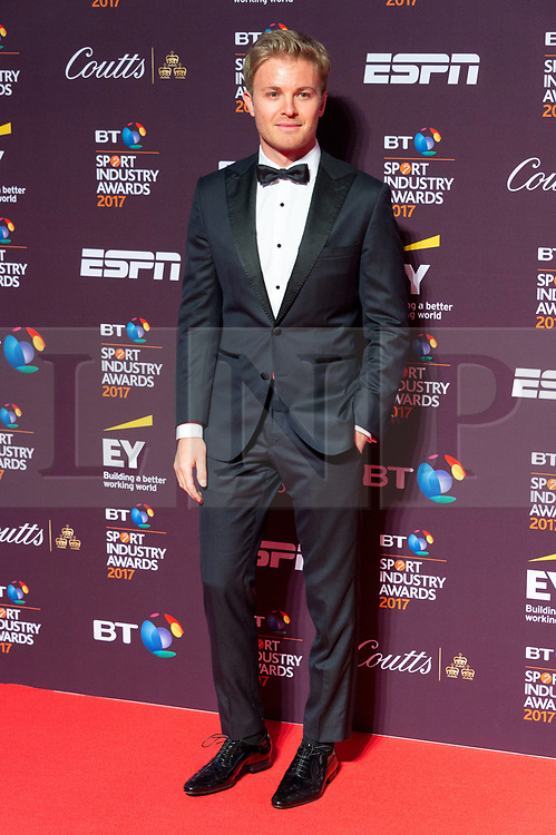 © Licensed to London News Pictures. 27/04/2017. London, UK. NICO ROSBERG attends the BT Sport Industry Awards 2017.  Photo credit: Ray Tang/LNP.