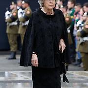 LUX/Luxemburg/20190504 -  Funeral<br /> of HRH Grand Duke Jean, Uitvaart Groothertog Jean,Beatrix der Nederlnden