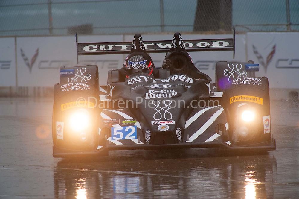 #52 PR1/Mathiasen Motorsports ORECA FLM09: Mike Guasch, Tom Kimber-Smith