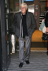 Michael Parkinson promoting his new book 'George Best: A Memoir' at BBC Radio Two Studios - London. 12 Nov 2018 Pictured: Michael Parkinson. Photo credit: mega TheMegaAgency.com +1 888 505 6342