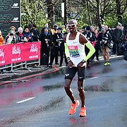 Mo Farah at the race start men and women at The Vitality Big Half 2019 on 10 March 2019, London, UK.