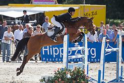 Houwen Kristian (NED) - Bibi Sijgje HS<br /> KWPN Paardendagen - Ermelo 2012<br /> © Dirk Caremans