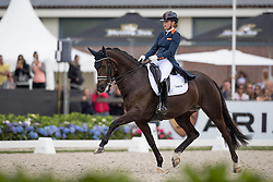 Maas Lynne, NED, Electra<br /> Final 7 years of age<br /> World Championship Young Dressage Horses <br /> Ermelo 2016<br /> © Hippo Foto - Dirk Caremans<br /> 31/07/16