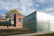 Juxtaposition of old and new. Silesian Museum, Katowice, Poland. Architect: Riegler Riewe Architekten , 2014.