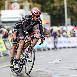 MUNSTER (GER) cycling  The last international race of the German cycling season is the Sparkasse Munsterland Giro. The start in 2016 was in Gronau and the finish after 20o km in Munster. The Giant-Alpecin soldier Tom Stamsnijder
