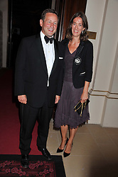 ED VAIZEY MP and his wife ALEX at the GQ Men of The Year Awards 2012 held at The Royal Opera House, London on 4th September 2012.