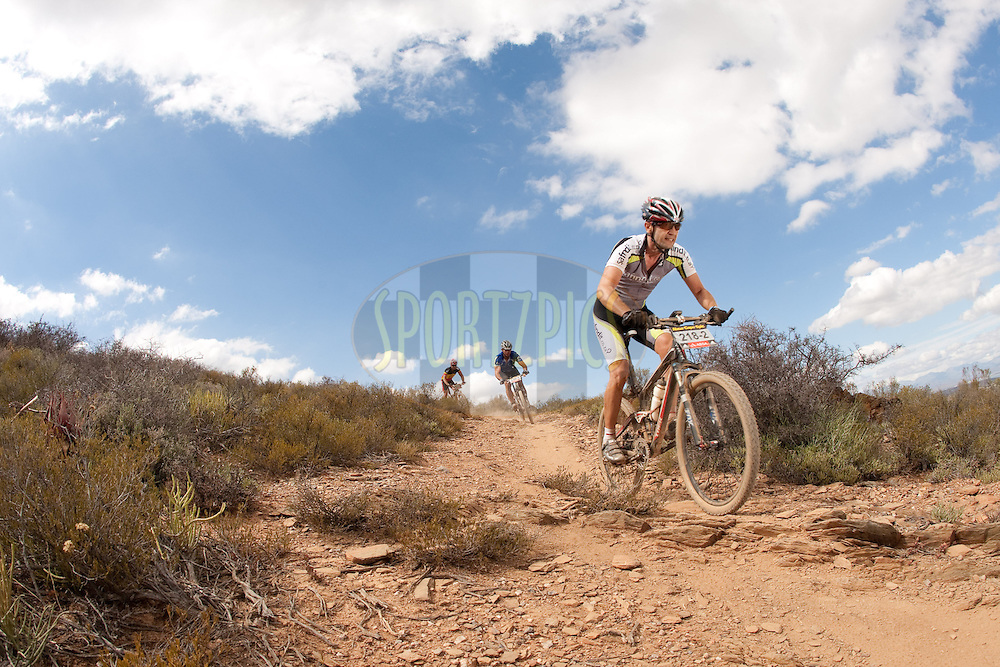 Christos Paterimos during the (time trial) stage five of the 2010 Absa Cape Epic Mountain Bike stage held in Worcester in the Western Cape, South Africa on the 25 March 2010.Photo by Nick Muzik/SPORTZPICS