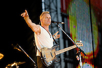 Sting performs at Wrigley Field