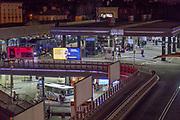 2020-02-26 Kraków. Dworzec MDA w Krakowie – dworzec autobusowy znajdujący się w Krakowie przy ul. Bosackiej 18, w bezpośrednim sąsiedztwie dworca kolejowego Kraków Główny.