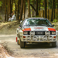 Audi quattro A2 (1983) here at the Goodwood Festival of Speed 2006