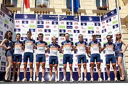 Team Conad during 1st Stage (164 km) at 19th Tour de Slovenie 2012, on June 14, 2012, in Celje, Slovenia. (Photo by Urban Urbanc / Sportida)