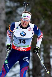 BAILEY Lowell of USA during Men 10 km Sprint of the e.on IBU Biathlon World Cup on Thursday, March 6, 2014 in Pokljuka, Slovenia. The first e.on IBU World Cup stage is taking place in Rudno polje - Pokljuka, Slovenia until Sunday March 9, 2014. Photo by Matic Klansek Velej / Sportida
