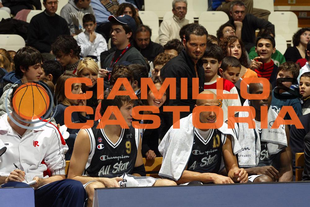 DESCRIZIONE : Bologna Lega A1 2005-06 Tim All Star Game <br /> GIOCATORE : Govoni Myers <br /> SQUADRA : All Star Ail <br /> EVENTO : Tim All Star Game 2005-2006 <br /> GARA : All Star Quadrifoglio Vita All Star Ail <br /> DATA : 11/12/2005 <br /> CATEGORIA : <br /> SPORT : Pallacanestro <br /> AUTORE : Agenzia Ciamillo-Castoria/G.Ciamillo